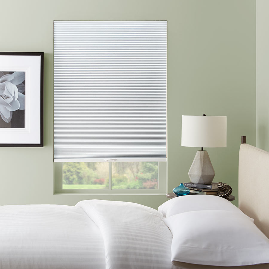 Get A Great Nights Sleep With 3/8 Inch Double Cell Blackout Shades!