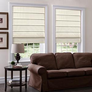 Basic Solid Light Filtering Roman Shades 6055