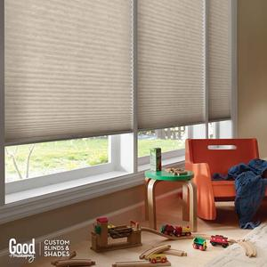 "Good Housekeeping 3/4"" Cordless Light Filtering Shades 4975"