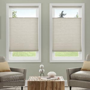"Good Housekeeping 3/4"" Cordless Light Filtering Shades 8003"