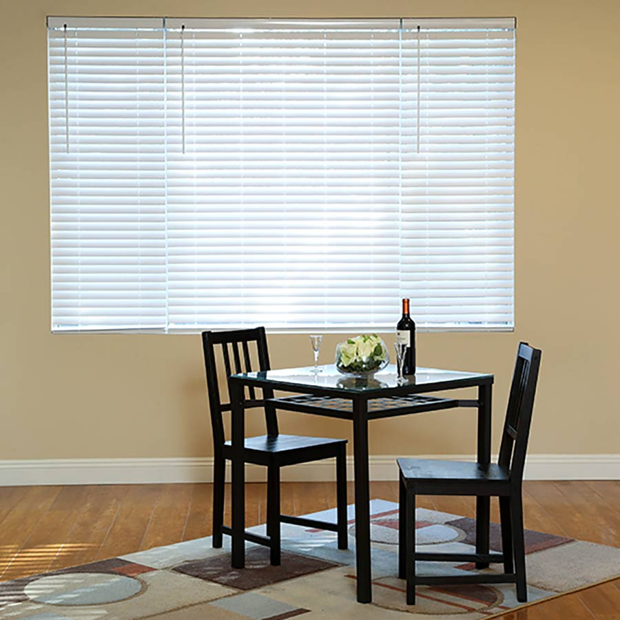 "2"" Express Cordless Faux Wood Blinds"