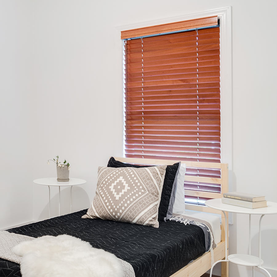 2 Inch Premier Wood Blinds in Autumn Harvest from SelectBlinds.com