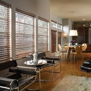 "2 1/2"" Designer Basswood Wood Blinds 5996"