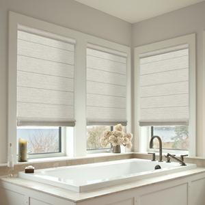 Premier Light Filtering Cord Free Roman Shades Selectblinds Com