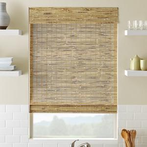 Shoreline Cordless Woven Wood Shades
