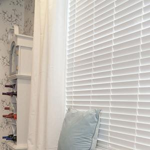 "2"" Designer Faux Wood Blinds 6160"