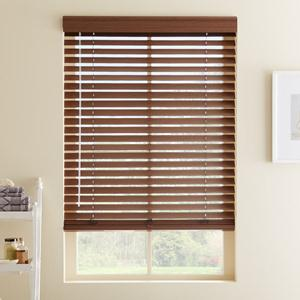 2 Quot Designer Faux Wood Blinds From Selectblinds Com
