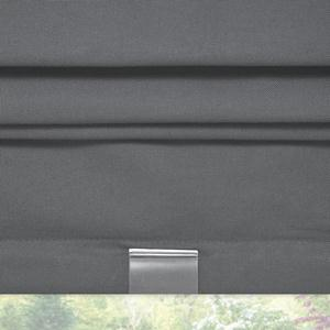 Signature Basic Solid Blackout Roman Shades Zoomed