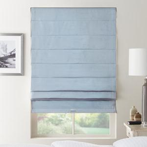 Premium Solid Blackout Roman Shades