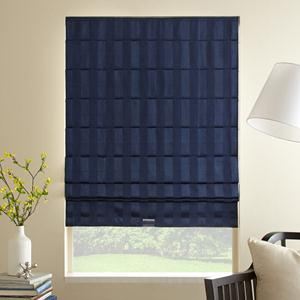 Classic Stripes Blackout Roman Shades