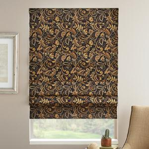 Prints and Floral Blackout Roman Shades