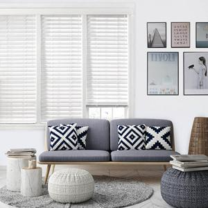 "2"" Premium Faux Wood Blinds 22551 Thumbnail"