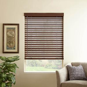 "2"" Premium Faux Wood Blinds 6384"