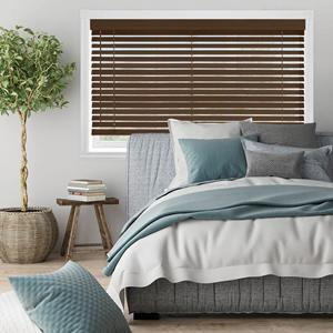 "2"" Premium Faux Wood Blinds 22552 Thumbnail"