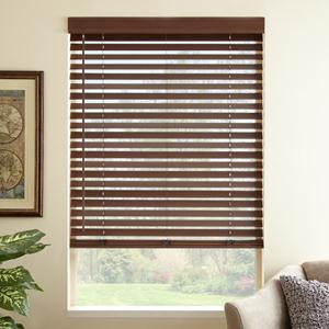 "2"" Premium Faux Wood Blinds 6382"
