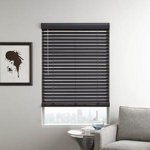 "Designer Contemporary 2"" Faux Wood Blinds 6743"