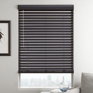 "Designer Contemporary 2"" Faux Wood Blinds"