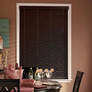 "Designer Contemporary 2"" Faux Wood Blinds 6649"
