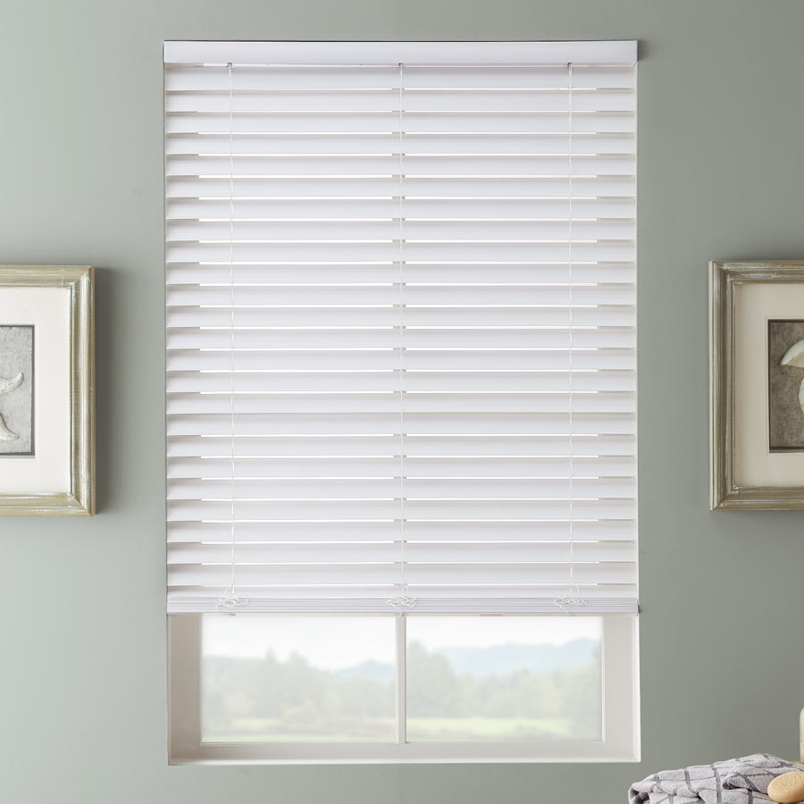 2 SelectWave Faux Wood Blinds from SelectBlindscom