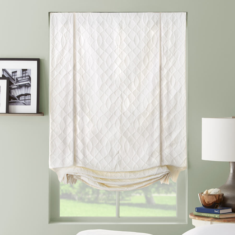 Designer Series Light Filtering Roman Shades