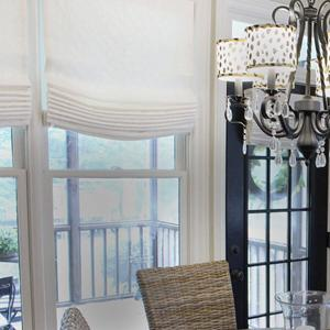 Designer Series Light Filtering Roman Shades 6960