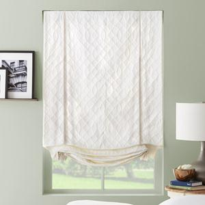 Designer Series Light Filtering Roman Shades 6304