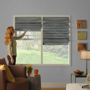 Designer Series Light Filtering Roman Shades 6306