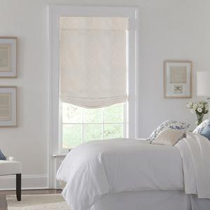 Designer Series Light Filtering Roman Shades 6305