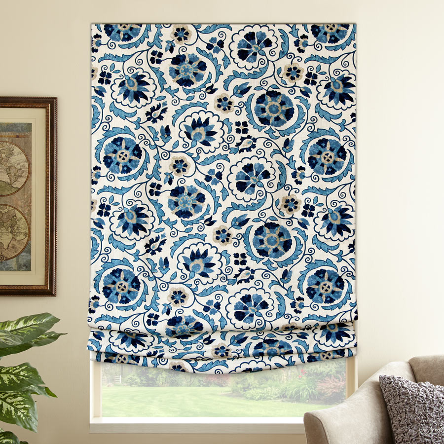 Designer Series Blackout Roman Shades