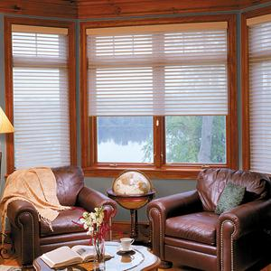 "2 1/2"" Choice Light Filtering Sheer Shades"