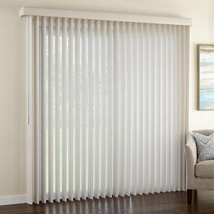 "Signature 3 1/2"" Textured Vertical Blinds"
