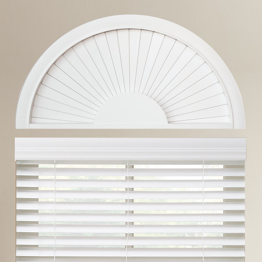 Perfect Sunset Faux Wood Arch