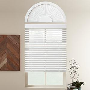 Perfect Sunset Faux Wood Arch Window Treatment
