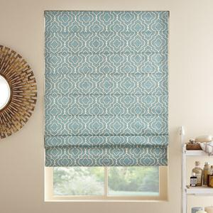 Designer Light Filtering Roman Shades