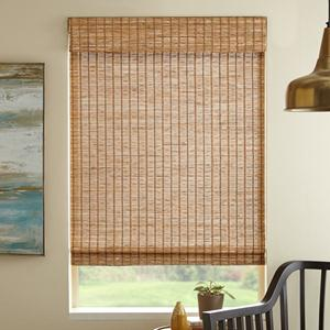 Remote Lift Premier Unlined Woven Wood Shades