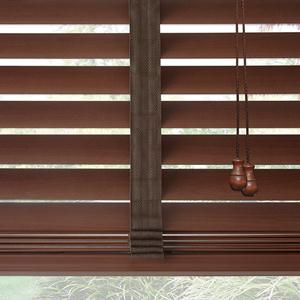 2 American Hardwood Wood Blinds 7998