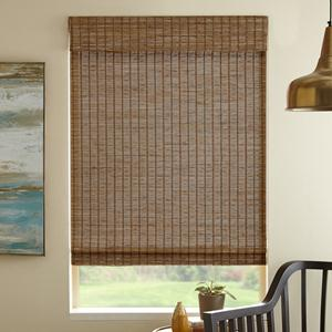Remote Lift Premier Blackout Woven Wood Shades