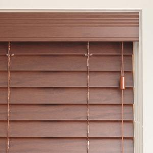 Premier 2 Cordless Faux Wood Blinds from SelectBlindscom
