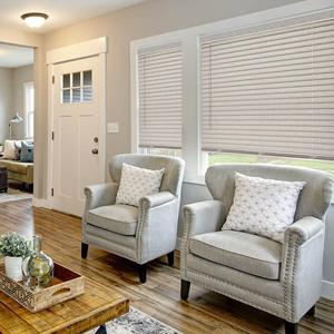 "2"" Light Filtering Fabric Horizontal Blinds 9538 Thumbnail"