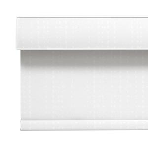White Cassette with Fabric Insert