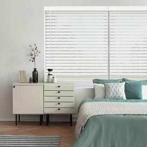 "Classic 2"" Cordless Faux Wood Blinds 22632 Thumbnail"