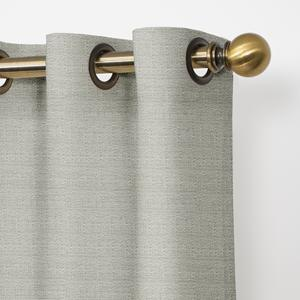 Match Rods with Grommet & Decorative Ring Finish
