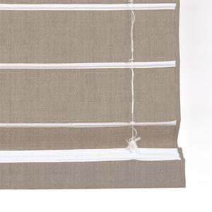 Lift Cords Facing Street-Side on Essential Light Filtering Romans from SelectBlinds.com