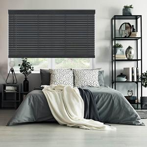 "2"" Essential Cordless Faux Wood Blinds 24343 Thumbnail"