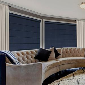 Premier Blackout Cord Free Roman Shades From Selectblinds Com