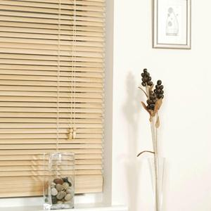 "1"" Designer Faux Wood Blinds 6006"