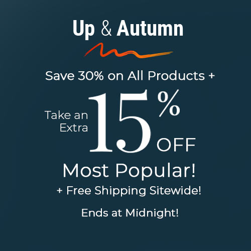 Save Save 30% on All + 15% Off Most Popular