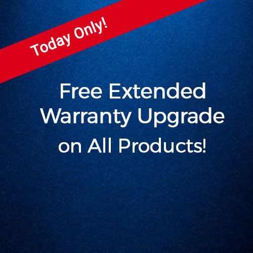 Free Extended Warranty Upgrade