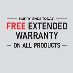 Free Warranty Upgrade