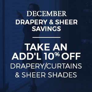 Extra 10% Off Drapery/Curtains & Sheer Shades